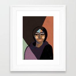 Hmm Framed Art Print