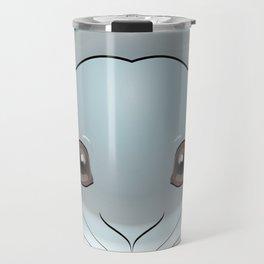 2D Rabbit Travel Mug