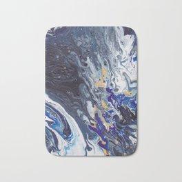 Waves Blown Back Bath Mat
