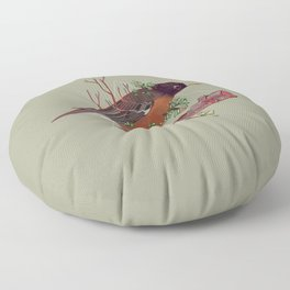 Atop a Cherry Tree Floor Pillow