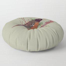 Atop a Cherry Tree Floor Pillow