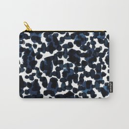 Blue Abstract Watercolour Carry-All Pouch