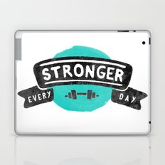 Stronger Every Day (dumbbell) Laptop & iPad Skin