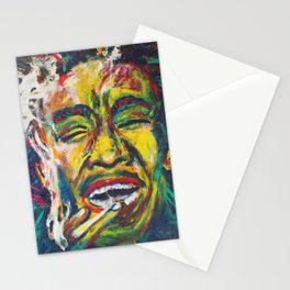 Rastafari Bob Stationery Cards