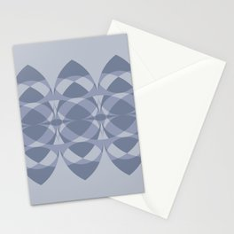 Surfboards in Lavender Stationery Cards