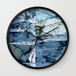Cool Abstraction Wall Clock