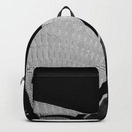 Sydney Opera House Sails Detail Mono Backpack
