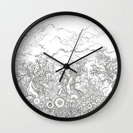 Hidden Things Wall Clock
