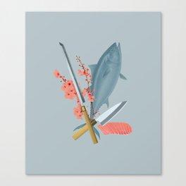 sushi chef Canvas Print