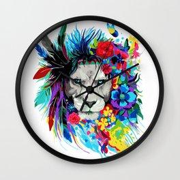 ART--LION Wall Clock