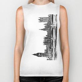 Westminster Bridge and Big ben  Biker Tank