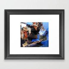 Riverboats Framed Art Print