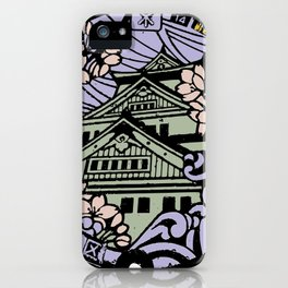 Kyoto Manhole Sewer Cover iPhone Case