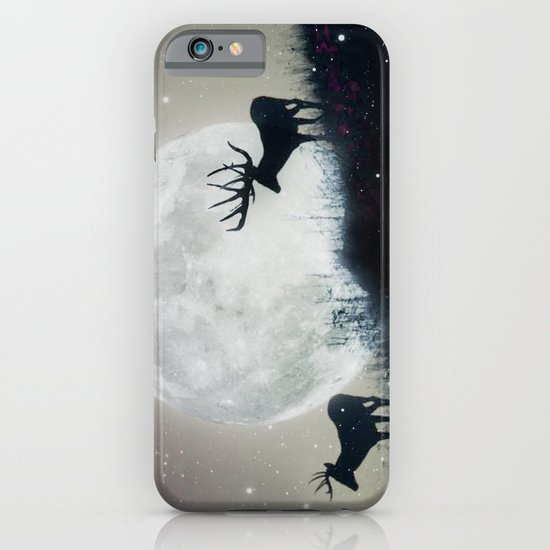 blue moon rising iPhone & iPod Case