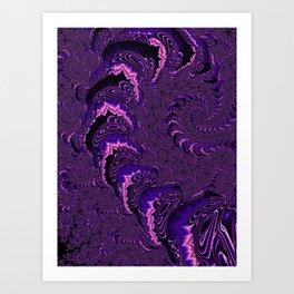 Groovy Fractal Art Print