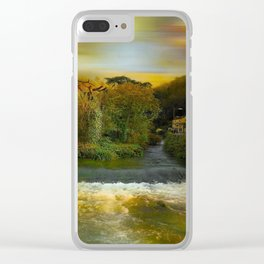 The River Yeo Clear iPhone Case