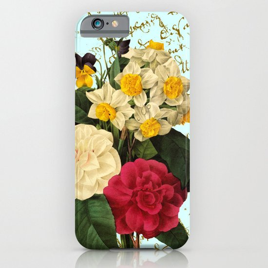 Botanical French Script iPhone & iPod Case