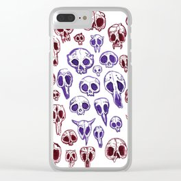 bestiary in color Clear iPhone Case