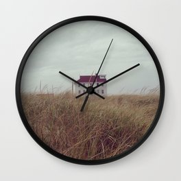 Red House on The Cape Wall Clock