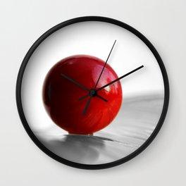 Red Heart Wall Clock