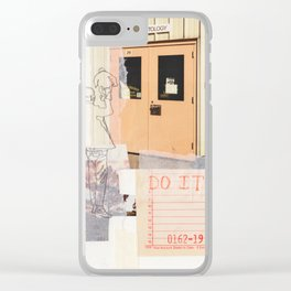 do better Clear iPhone Case