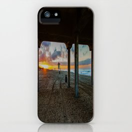 December Morn ~ Surf City iPhone Case