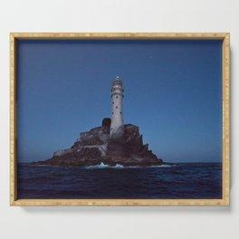 (RR 293) Fastnet Rock Lighthouse - Ireland Serving Tray