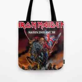 iron maiden england 1988 Tote Bag
