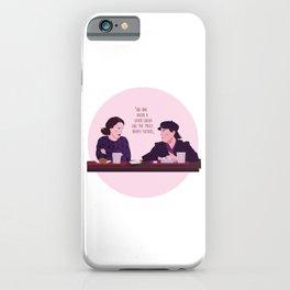 The Marvelous Mrs.Maisel Illustration iPhone Case