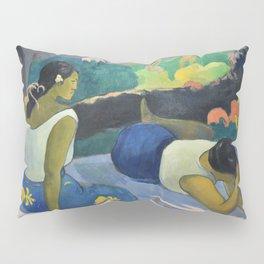 Paul Gauguin - Reclining Tahitian Women, Arearea no varua ino (1894) Pillow Sham