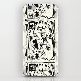 Caged Bird iPhone Skin