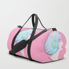 Time Bunny Girl Duffle Bag
