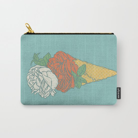 Rose ice cream Carry-All Pouch