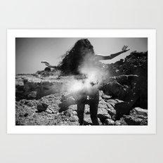 Enter the Dust 01 Art Print