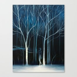 sleeted Canvas Print