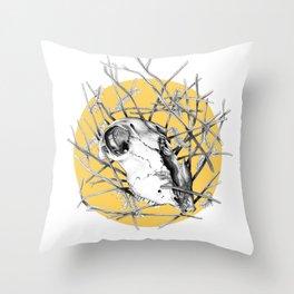 Skull Study #2 Throw Pillow