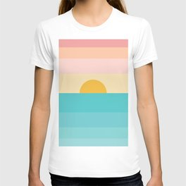 sunrise /sunset T-shirt
