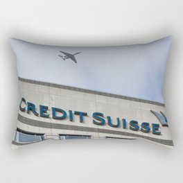 Credit Suisse Cabot Square  Rectangular Pillow
