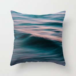 The Uniqueness of Waves XV Throw Pillow