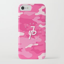 Jake Paul Pink military camo iPhone Case
