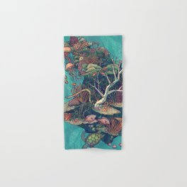 Coral Communities Hand & Bath Towel