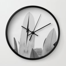Surf Boards Wall Clock