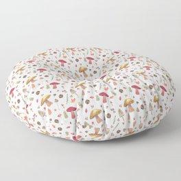 Autumn mushroom pattern Floor Pillow
