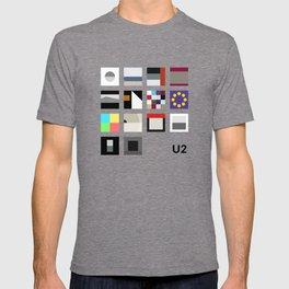 Minimalist U2's History - Grey T-shirt