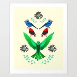 Fåglar du? Art Print