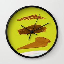 Pecan Wall Clock