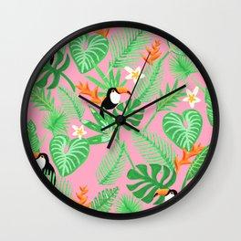 Toucan Tango Wall Clock