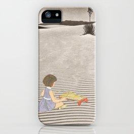 Sand Sound iPhone Case