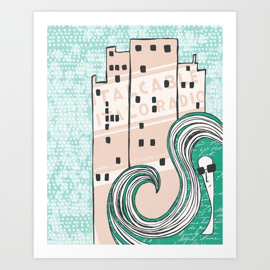 City Chic Art Print