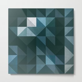 :: geometric maze XIII :: Metal Print